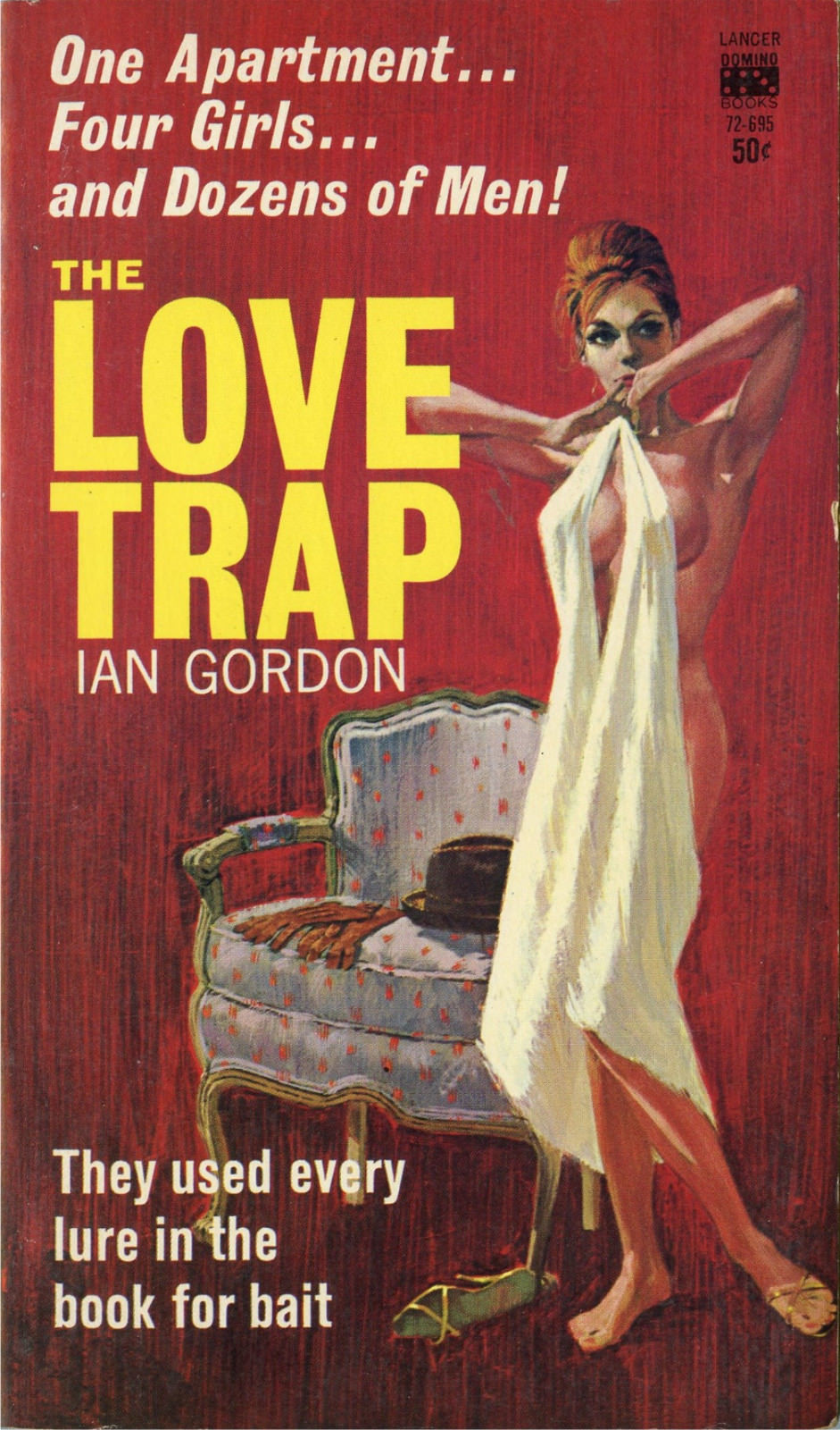 search results for love trap pulp covers