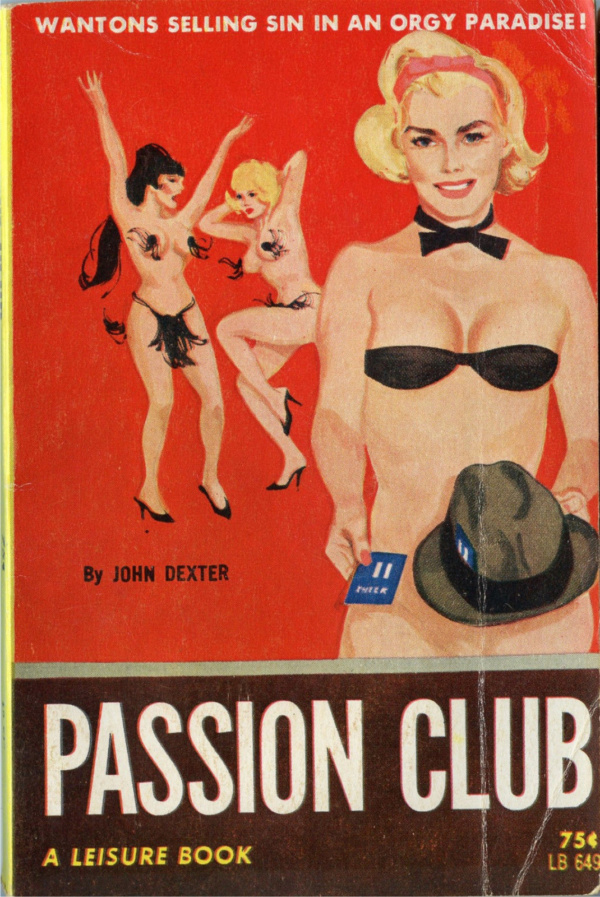 Leisure Books LB649 - Passion Club (1964)