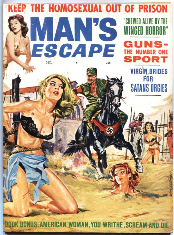 Man's Escape Magazine December 1963