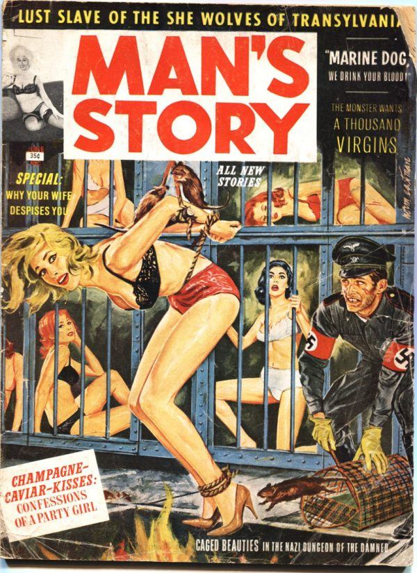Man's Story June 1963