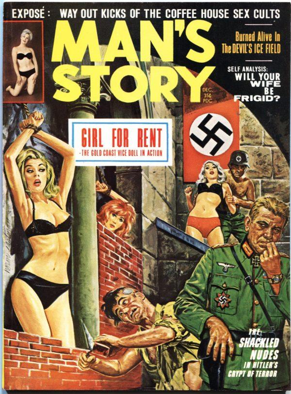 Man's Story Magazine December 1963
