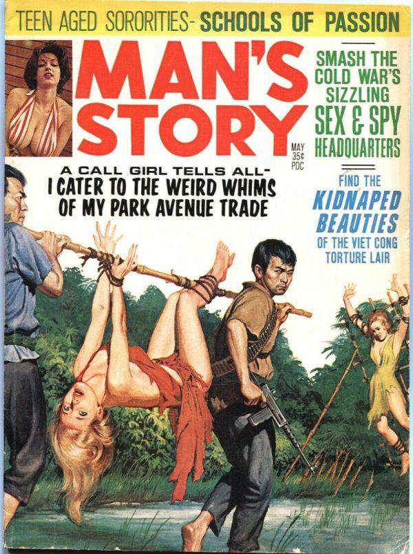 Man's Story May 1966