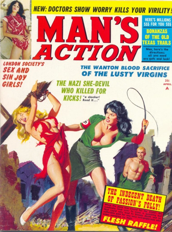 Man's Action April 1968