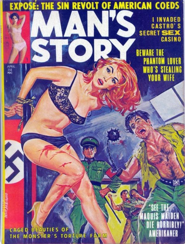 Man's Story April 1964