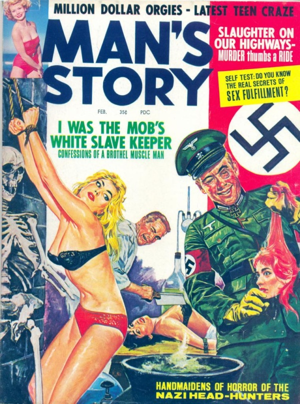 Man's Story February 1964