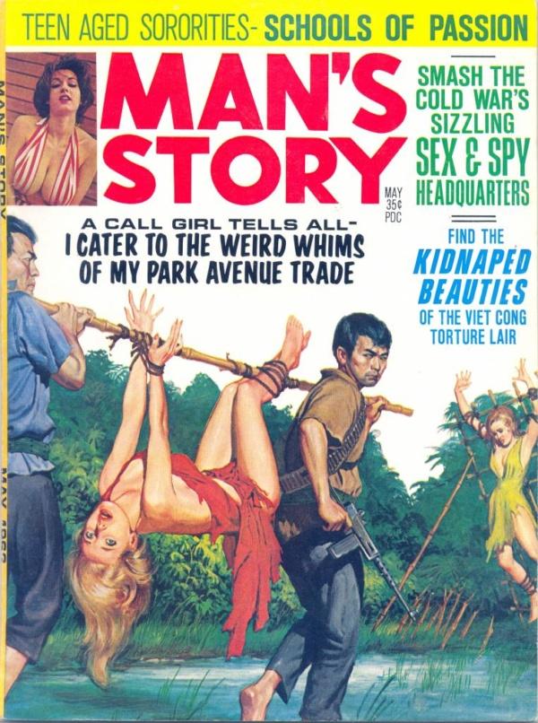 Man's Story May 1963
