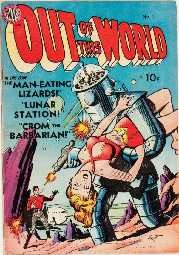 Out of This World #1 (Avon, 1950)