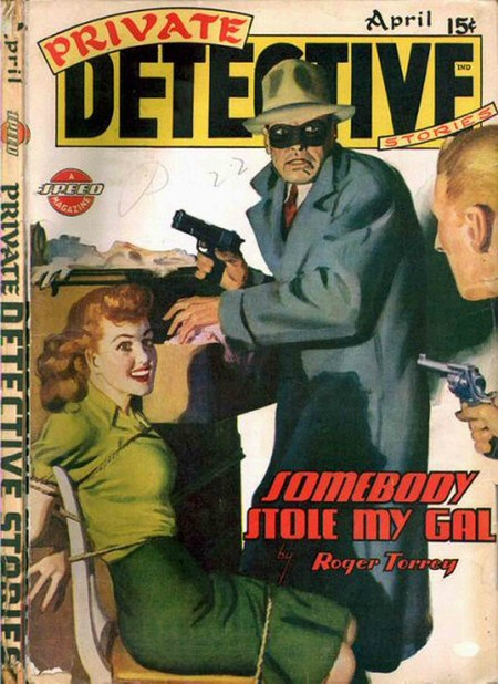 Private Detective, April 1944