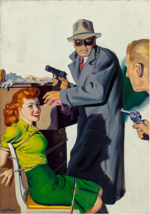Private Detective magazine cover, April 1944