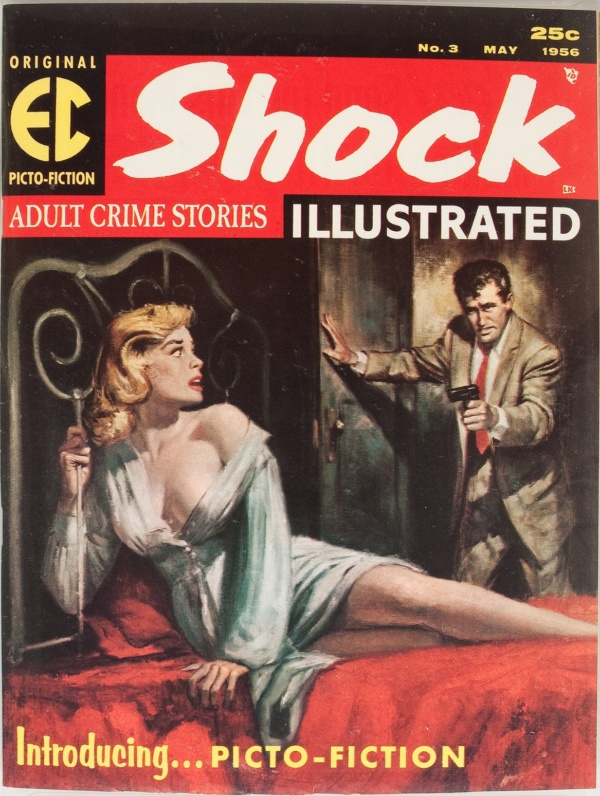 Shock Illustrated #3 1956