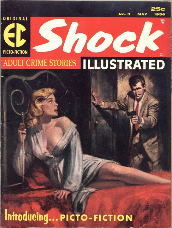 Shock Illustrated #3 May 1956