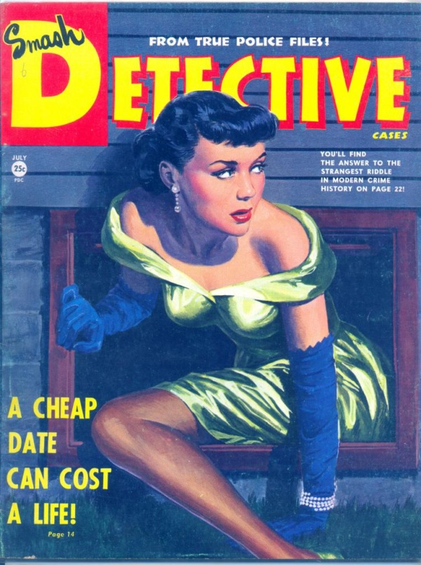Smash Detective August 1950