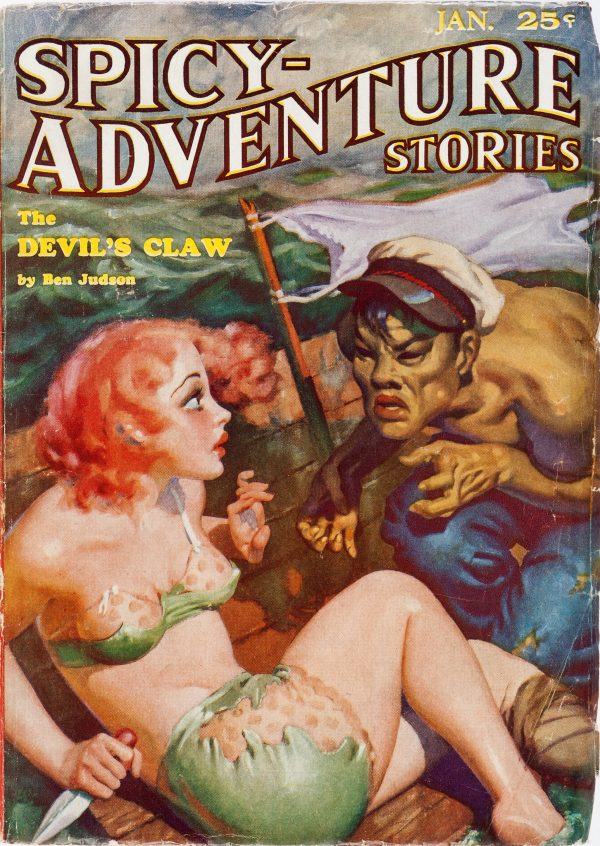 Spicy Adventure Stories - January 1935