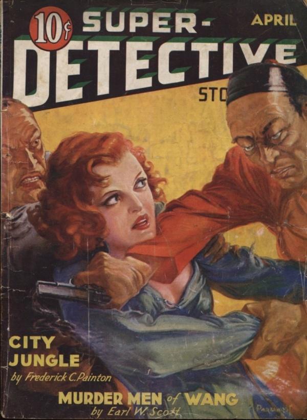 Super-Detective April 1935