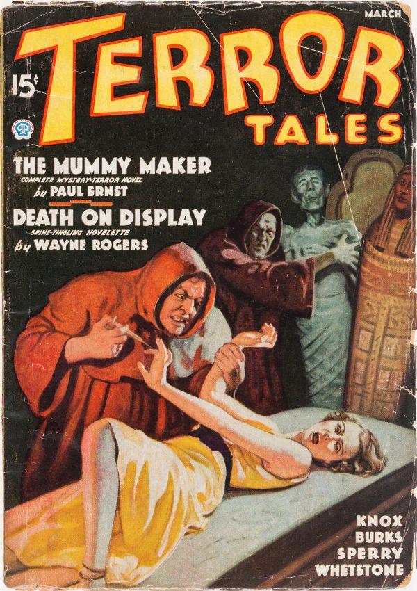 Terror Tales - March 1936