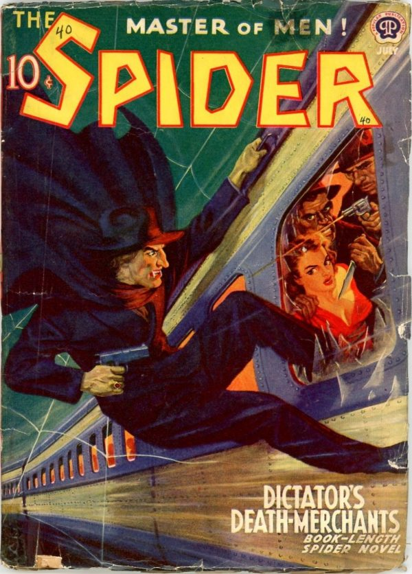 The Spider, July 1940