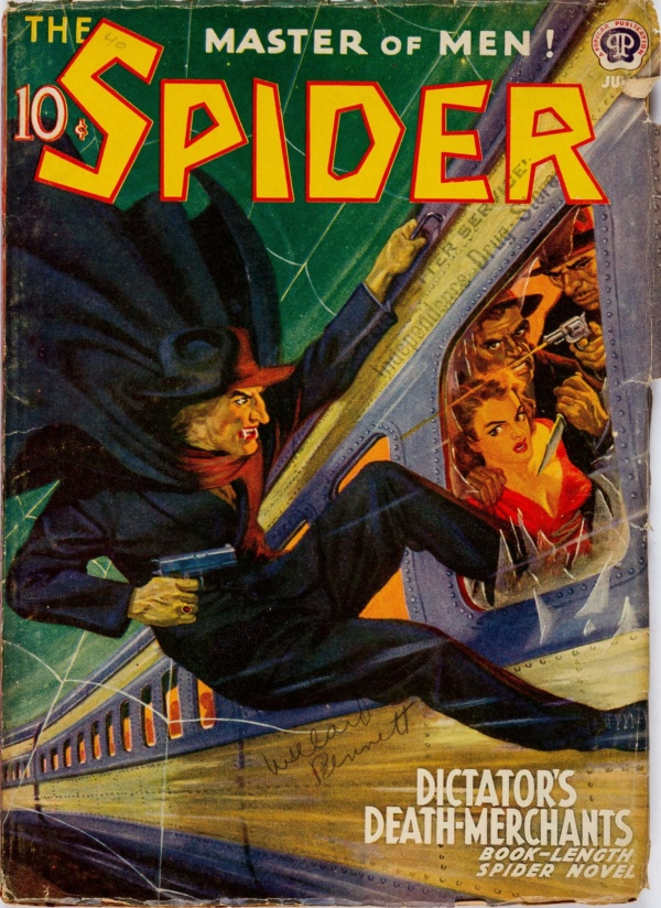 The Spider - July 1940