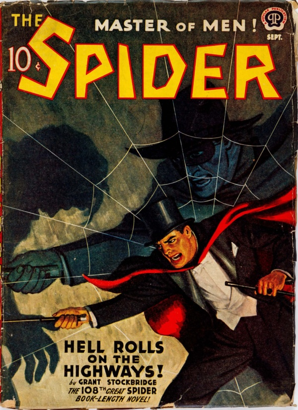 The Spider - September 1942