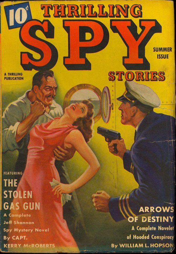 Thrilling Spy Summer, 1940