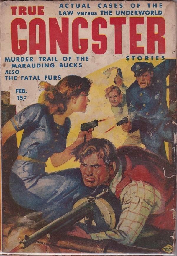 True Gangster Stories February 1942