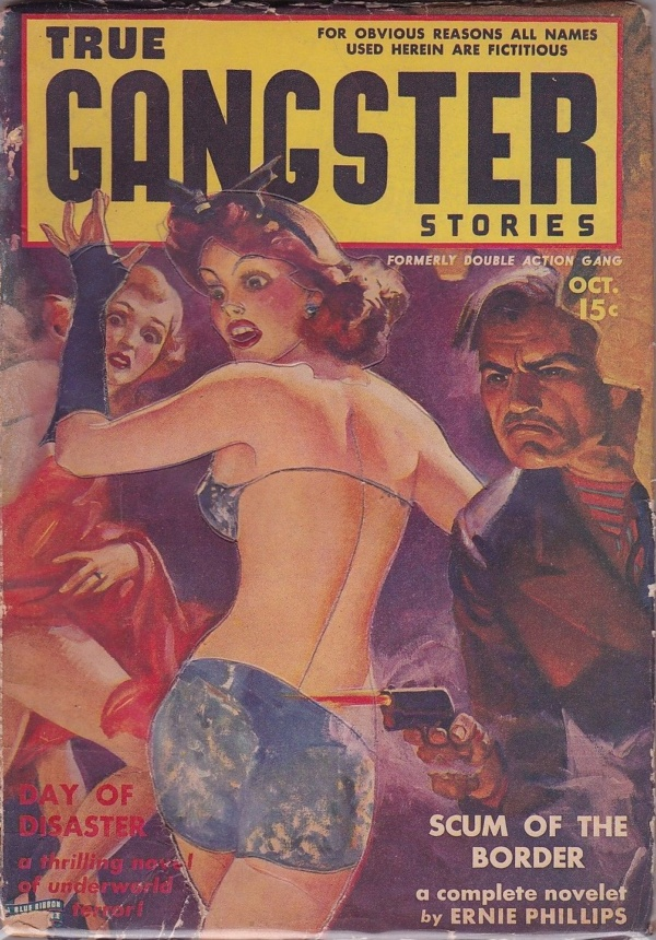 True Gangster Stories October 1939