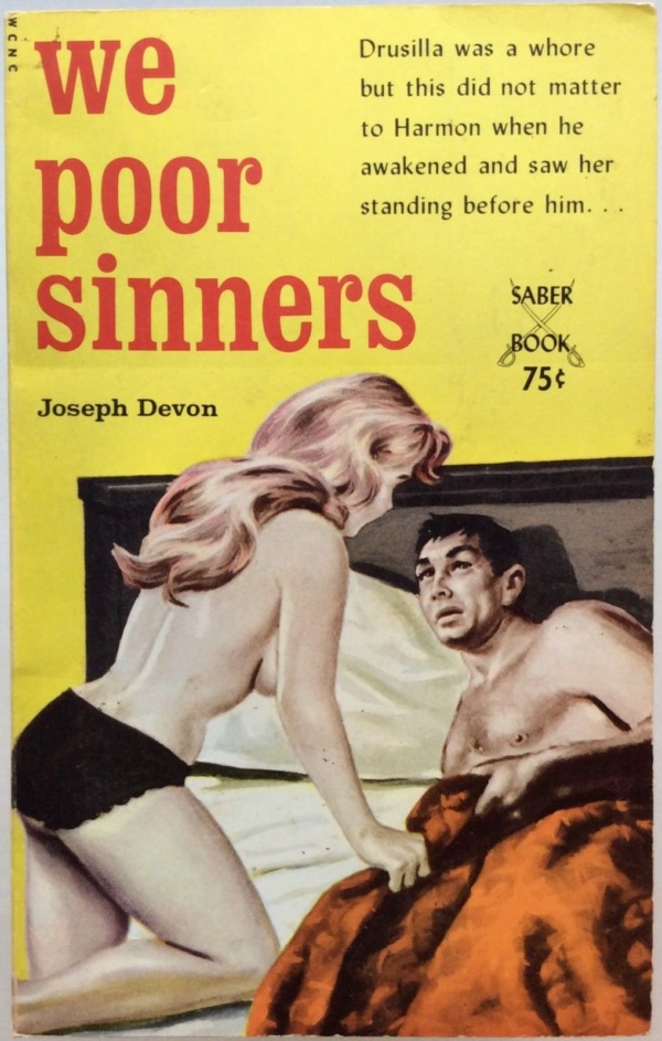 We Poor Sinners by Devon, Saber Book SA-56 (1964)