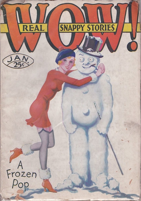 Wow! Real Snappy Stories January 1931