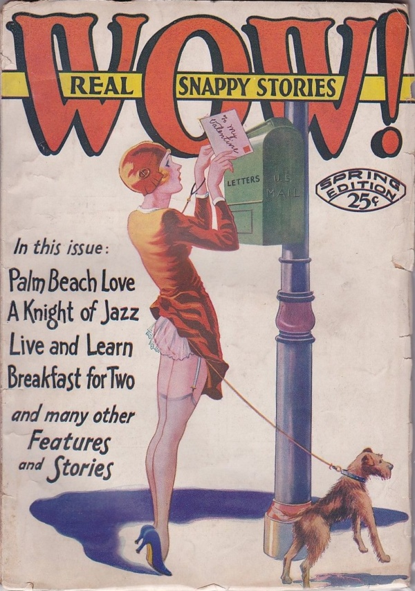 Wow! Real Snappy Stories Spring 1931