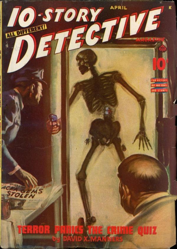10-STORY DETECTIVE. April 1945