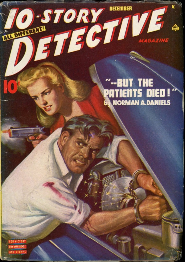 10-STORY DETECTIVE. December 1945