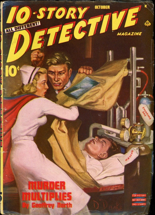 10-STORY DETECTIVE. October 1945