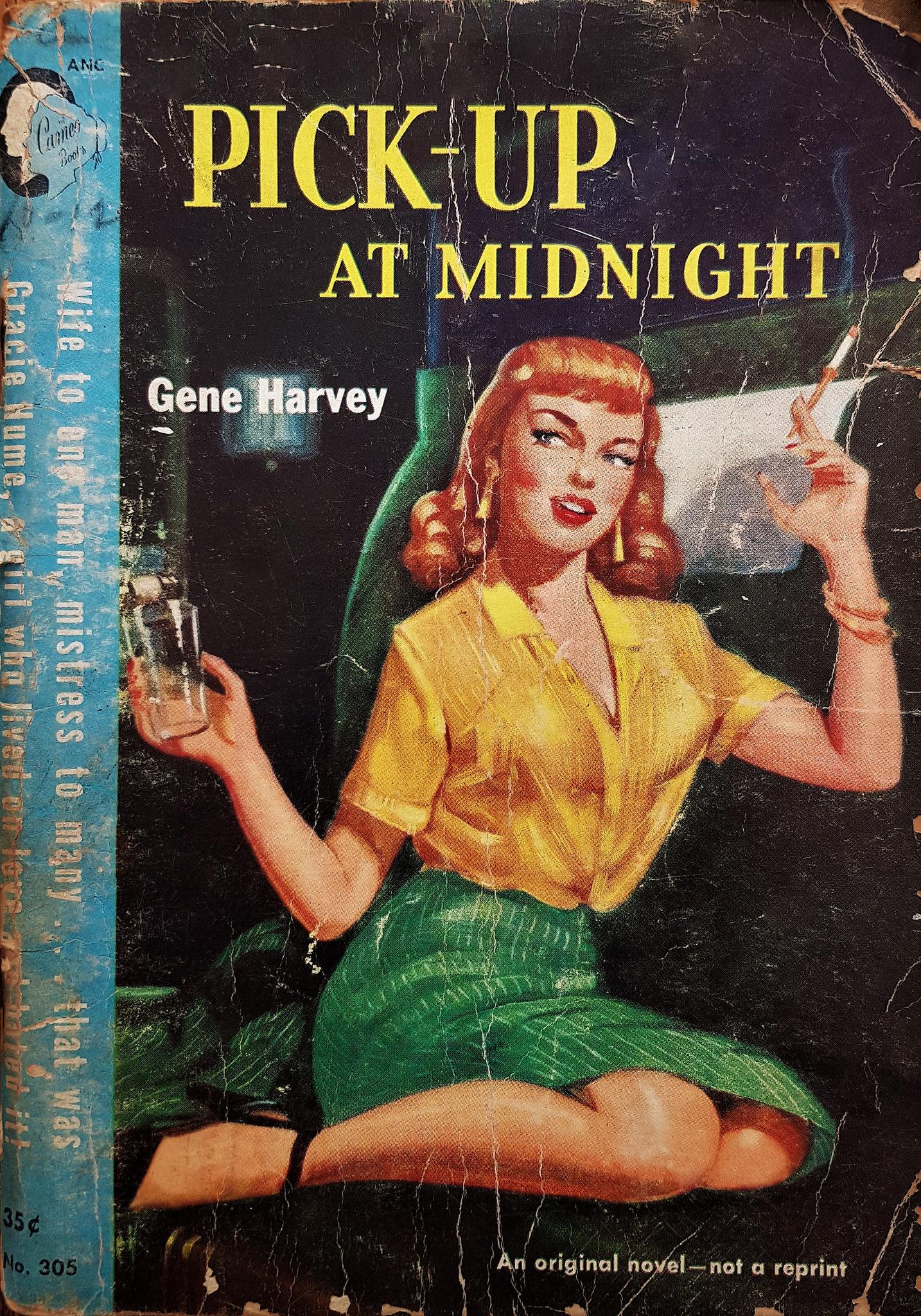 04 Vintage Pulp Art Something About Midnight Magazine