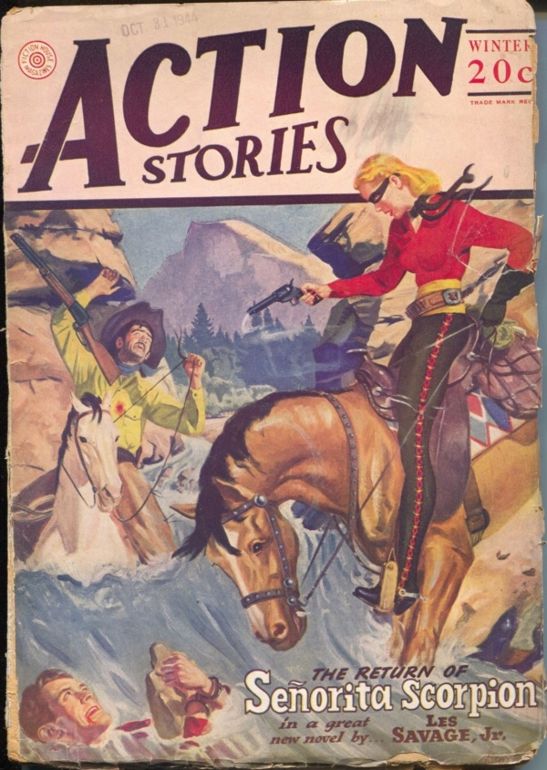 Action Stories Winter 1944