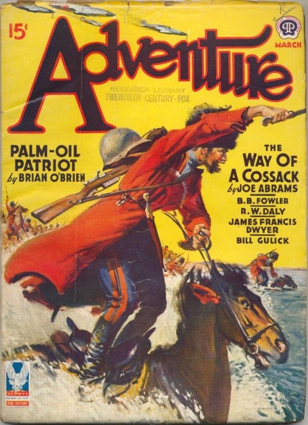 Adventure March 1943