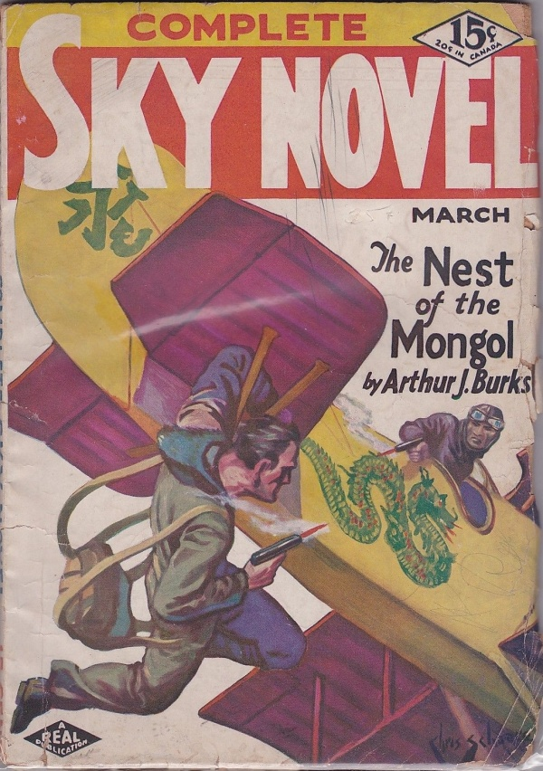 Complete Sky Novel March 1931