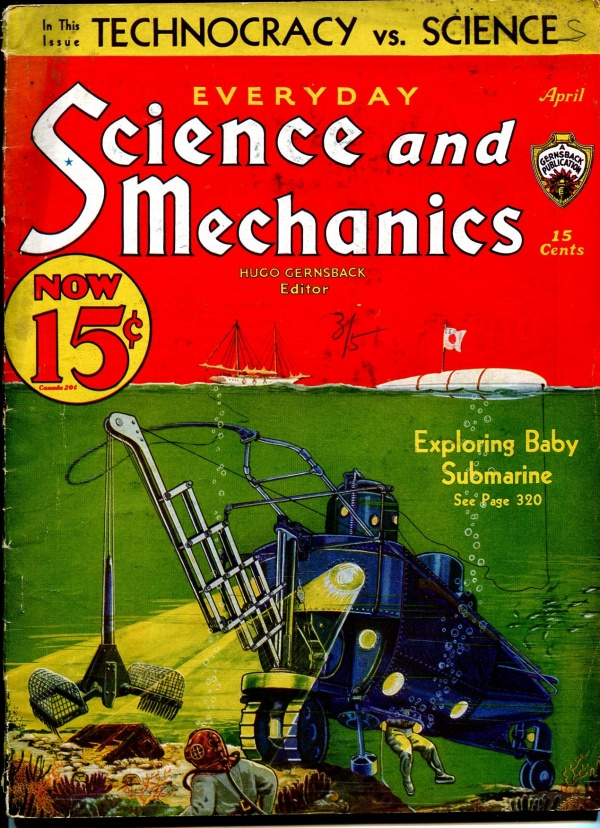 Everyday Science And Mechanics April 1933