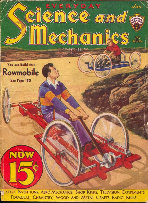 Everyday Science And Mechanics January 1933