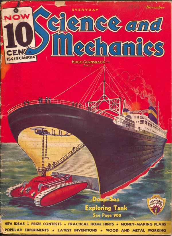 Everyday Science And Mechanics November 1935