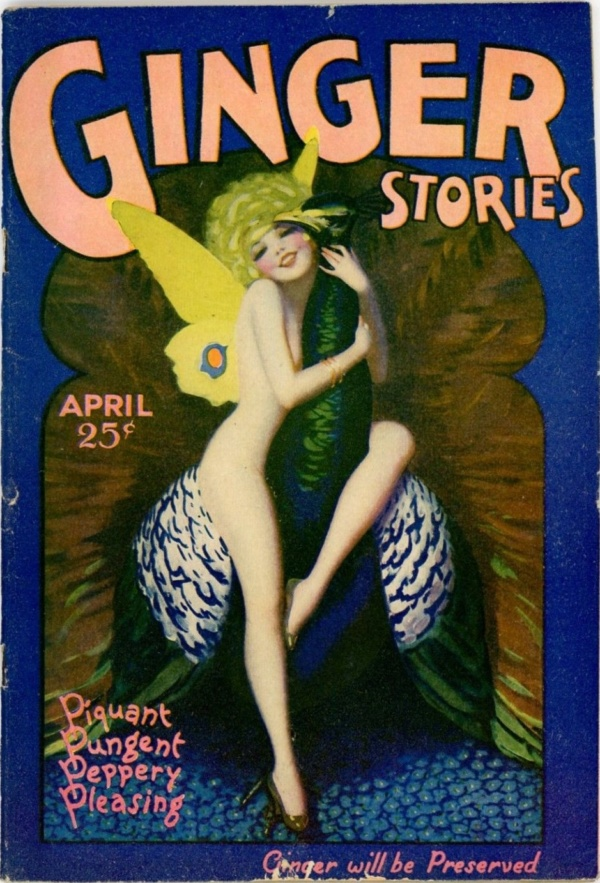 Ginger Stories, April 1929