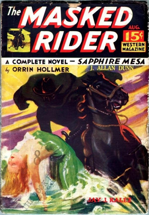 Masked Rider August 1934