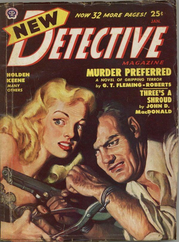 New Detective Magazine January 1949