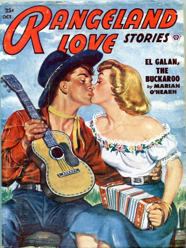 Rangeland Love Stories October 1951