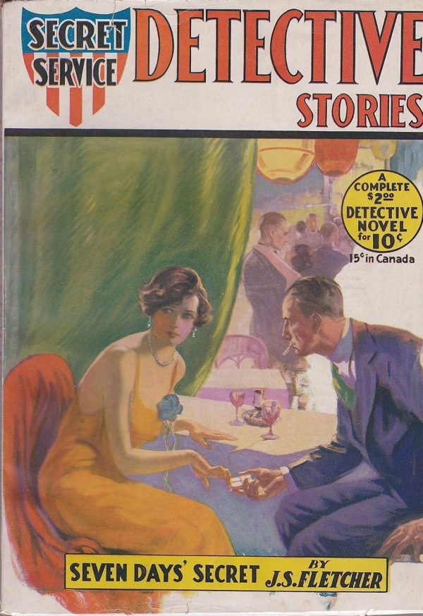 Secret Service Detective Stories November 1930