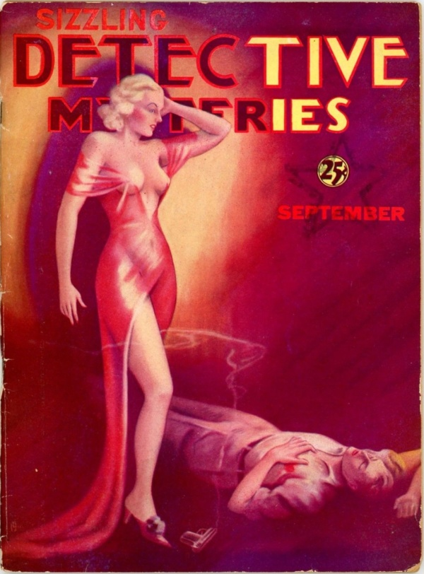 Sizzling Detective Mysteries, Sept. 1935