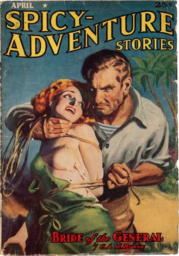 Spicy Adventure Stories April 1939
