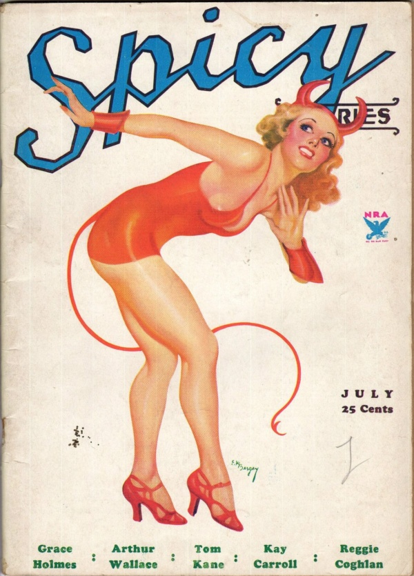 Spicy Stories Volume 4 Number 7 July 1934