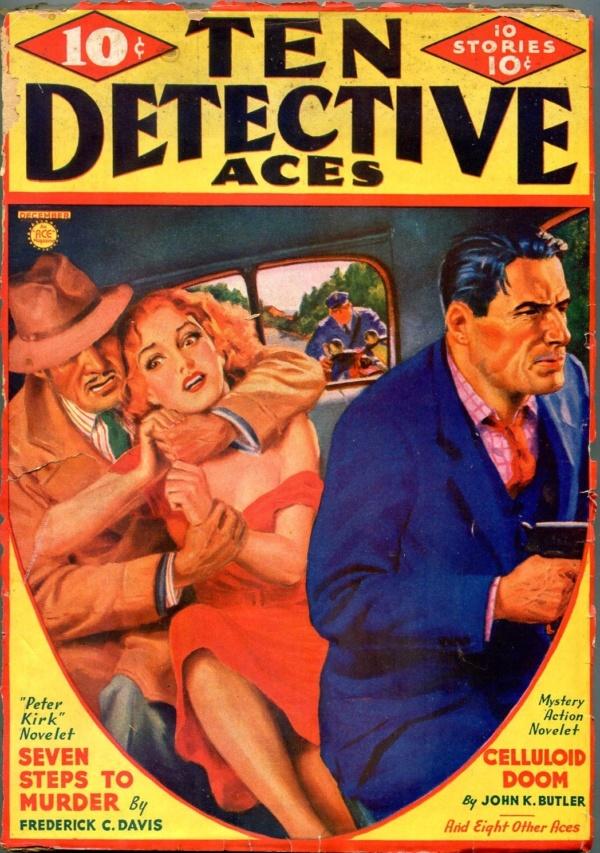 Ten Detective Aces December 1936