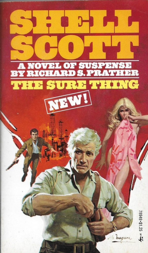 The Sure Thing, Richard S Prather Pocket Books, 1975