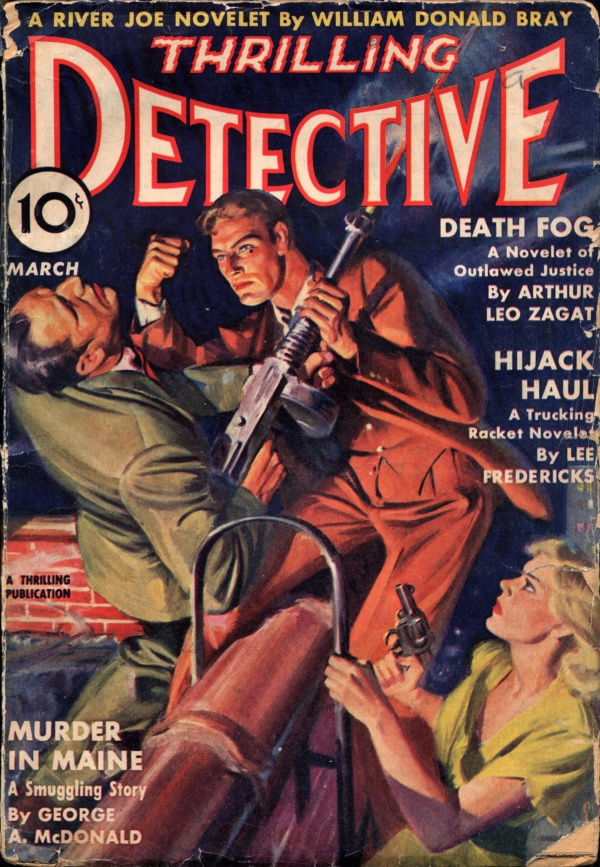 Thrilling Detective March 1939