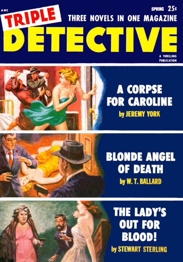 Triple Detective Spring 1953